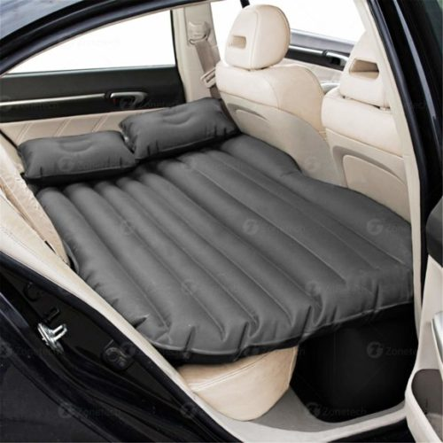 12. Car Travel Inflatable Air Mattress Back Seat - Zone Tech Premium Quality Car Bed Back Seat Inflatable Air Mattress