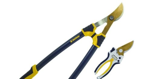"12. Melnor Pruner & Lopper Value Pack - Titanium Blades - Includes 27"" Bypass Loppers and 8.5"" Bypass Pruner"