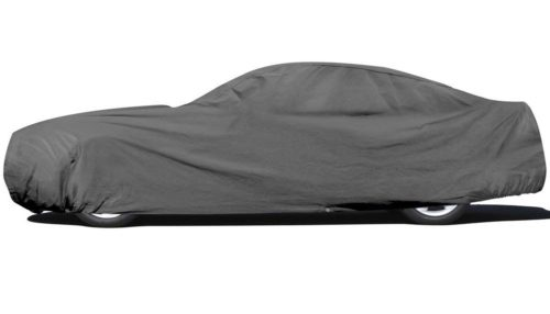 12. OxGord Car Cover - Basic Out-Door 4 Layers - Tough Stuff - Ready-Fit,Semi Glove Fit - Fits up to 204 Inches