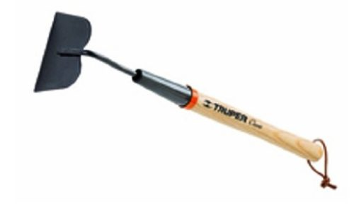 12. Truper 30663 Floral Garden Tool Garden Hoe with Ash Handle, 15-Inch