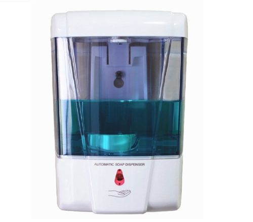 12.Naiver-Battery-Powered-Automatic-Wall-Mounted-Sensor-Soap-Pump-Touchless-Liquid-Infrared-Soap-Dispenser-600ml-Ultra-Large-Capacity.