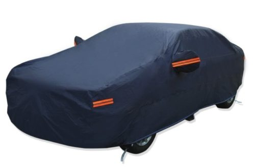 13. YITAMOTOR Car Cover Hot Welted Seamless PEVA Cotton Lining Full Breathable All Weather Snow Dust Rain Wind Resistant