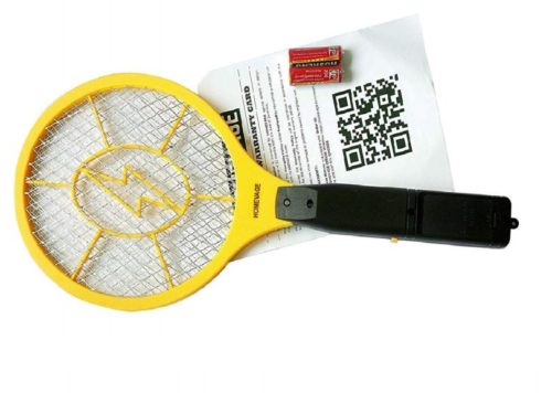 13.HOMEVAGE-Electric-Fly-Swatter-Bug-Zapper-Best-High-Voltage-Handheld-Mosquito-Killer-Wasp-Fruit-Fly-Insect-Trap-Racket-For-Indoor-Travel-Camping