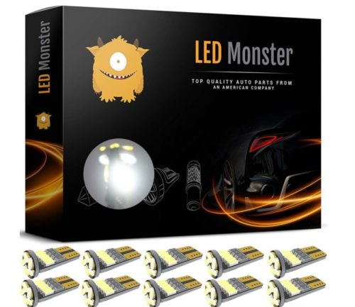 14.LED-Monster-10pcs-LED-Interior-Car-Lights-For-Dome-Map-Door-Courtesy-License-Plate-Direct-Fit-For-T10-2825-194-168-W5W-Super-Bright-White