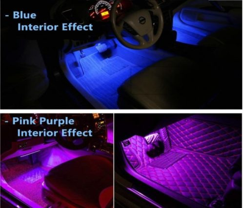 15.Car-LED-Strip-Light-YANF-4Pcs-36-LED-Music-Car-Interior-Light-Led-Under-Dash-Lighting-Kit-Multicolor-Floor-Lights-with-Sound-Active-Function-and-Wireless