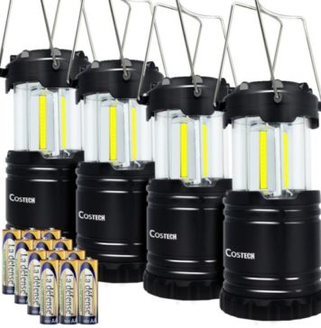 15.LED-Camping-Lantern-Costech-Cob-Light-Ultra-Bright-Collapsible-Lamp-Portable-Hanging-Flashlight-for-Outdoor-Garden-Hiking-Fishing-4-Pack