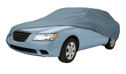 3. Classic Accessories OverDrive PolyPro 1 Compact Sedan Car Cover