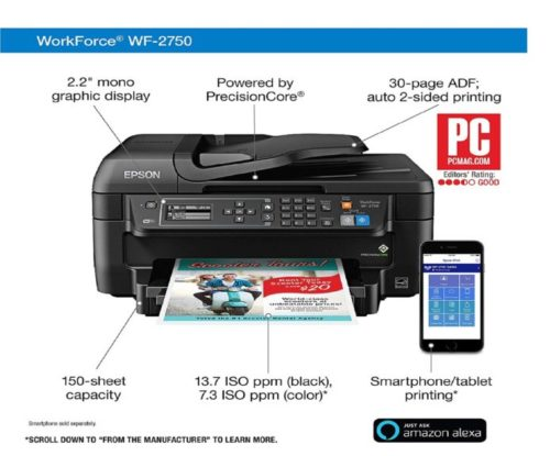 3.Epson-WF-2750-All-in-One-Wireless-Color-Printer-with-Scanner-Copier-Fax-Amazon-Dash-Replenishment-Enabled