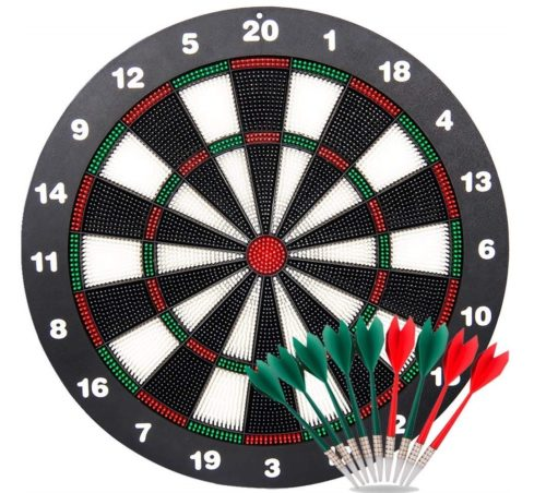 3.Ylovetoys-Dart-Board-Soft-Tip-Safety-Kids-Dart-Board-Set-Boys-Toys-Gifts-16.4-inch-Rubber-Dartboard-with-9-Soft-Tip-Safe-Darts-Great-Game-for-Office-and.