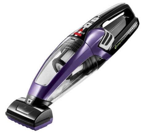 4. BISSELL Pet Hair Eraser Lithium Ion Cordless Hand Vacuum, Purple