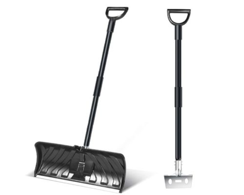4.Ohuhu-2-in-1-Snow-Shovel-Ice-Scraper-55-INCH-Collapsible-Multipurpose-Snow-Shovels-for-Snow-Removal-Snow-Pusher-for-Driveway-Ice-Scraper-for-Digging