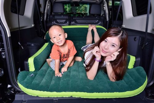 5. Heavy Duty Inflatable Car Mattress Bed for SUV Minivan Back Seat Extended Mattress