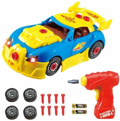 5. Think Gizmos Take Apart Toy Racing Car - Construction Toy Kit for Boys and Girls Aged 3 4 5 6 7 8 - Build Your Own Car Kit Updated Version 3 Exclusive to