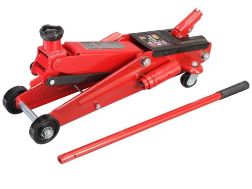 6. Torin Big Red Hydraulic Trolley Floor Jack, SUV, Extended Height, 3 Ton Capacity