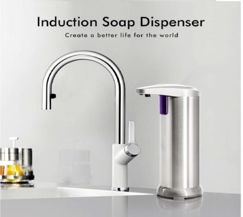 6.ELECHOK-Soap-Dispenser-Touchless-Automatic-Soap-Dispenser-Infrared-Motion-Sensor-Stainless-Steel-Dish-Liquid-Hands-free-Auto-Hand-Soap-Dispenser-Upgraded