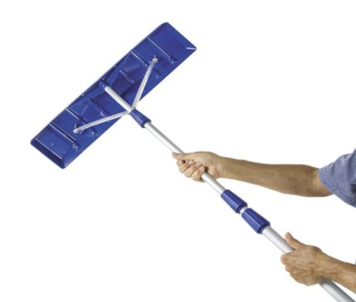 6.Snow-Joe-21-Twist-n-Lock-Telescoping-Snow-Shovel-Roof-Rake-w-6-x-25-Poly-Blade-–-RJ204M
