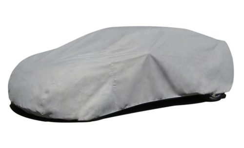 7. Budge Duro Car Cover Fits Sedans up to 264 inches, D-5 - (Polypropylene, Gray)