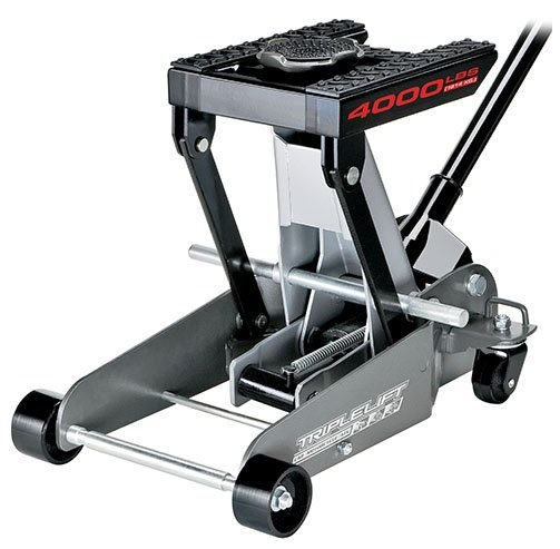 7. Powerbuilt 620422E Heavy Duty 4000 lb Triple Lift Jack