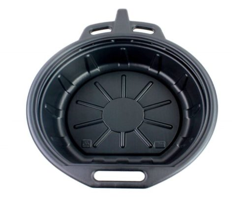 7.Capri-Tools-CP21024-Portable-Oil-Drain-Pan-2-gallon-Black