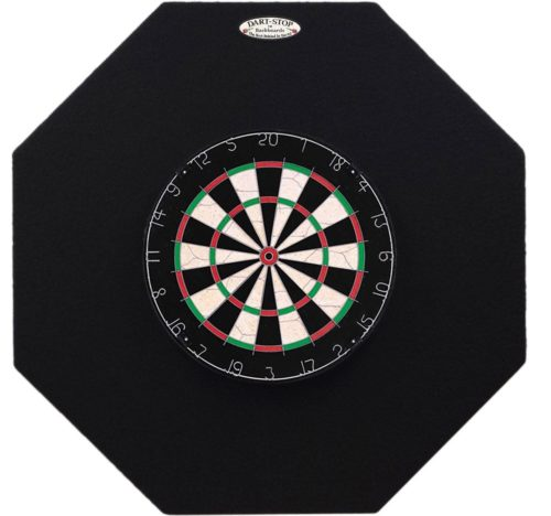 7.Dart-Stop-36-inch-Black-Octagon-Pro-Dart-Board-Back-Board-Wall-Protector-Dartboard-Surround