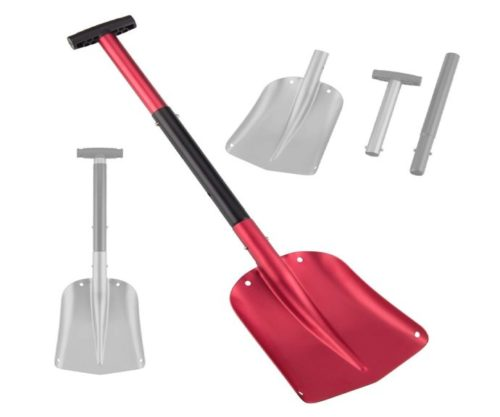 7.Pinty-26-32-Aluminum-Lightweight-Utility-Shovel-Adjustable-and-Collapsible-Winter-Snow-Shovels-for-Car-Camping-Garden-Red