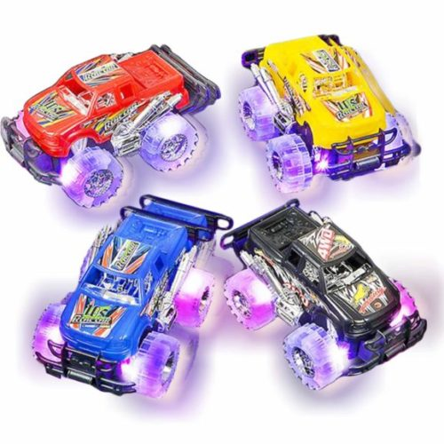 """8. Light Up Monster Truck Set for Boys and Girls by ArtCreativity - Set Includes 2, 6"""" Monster Trucks with Beautiful Flashing LED Tires"""