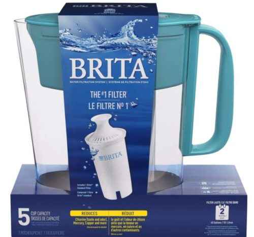 9.Brita-Small-5-Cup-Metro-Water-Pitcher-with-Filter-BPA-Free-Turquoise