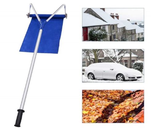 9.CWEI-Roof-Snow-Rake-Removal-Tool-20-Ft-with-Adjustable-Telescoping-Handle-Will-Relieve-Your-House-of-The-Heavy-Snow