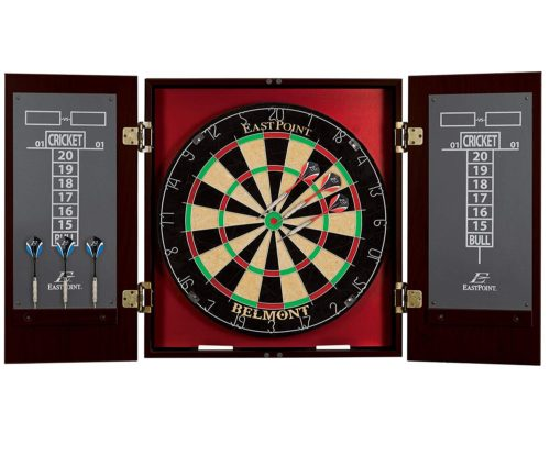 9.EastPoint-Sports-Belmont-Bristle-Dartboard-and-Cabinet-Set-Features-Easy-Assembly-Complete-with-All-Accessories.