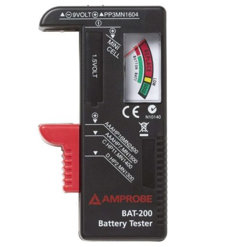 1. Amprobe BAT-200 Battery Tester
