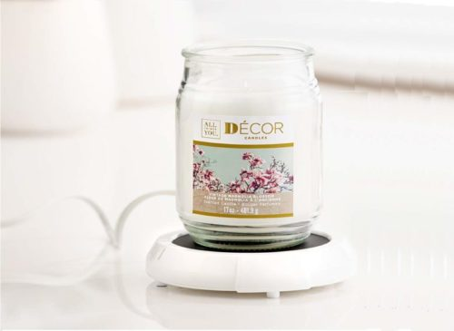 1.Darice Large Candle Warmer - Candle Plate Safely Releases Scents without a Flame, Keeps Drinks and Soups Warm, 1199-15