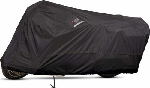 1.Dowco Guardian 50004-02 WeatherAll Plus Indoor Outdoor Waterproof Motorcycle Cover Black, X-Large