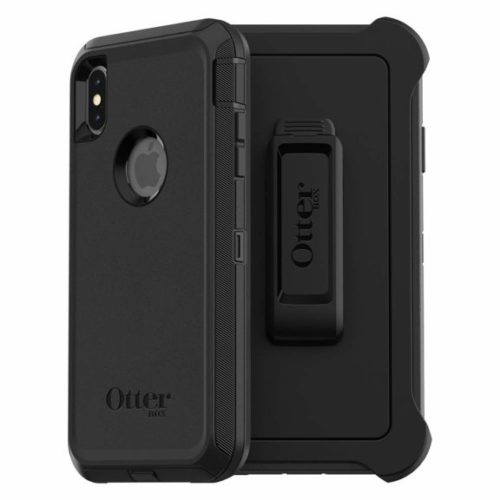 11. OtterBox DEFENDER SERIES SCREENLESS EDITION Case for iPhone Xs Max - Retail Packaging - BLACK