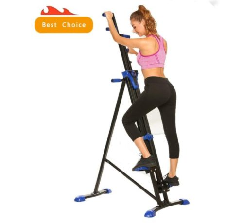11.Miageek Vertical Climber for Home Gym Full Total Body Workout Folding Cardio Exercise Machine