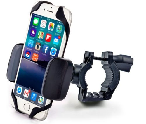 3.Bike-Motorcycle-Phone-Mount-for-iPhone-Xs-Xr-X-8-7-6-Plus-Max-Samsung-Galaxy-or-Any-Cell-Phone-Universal-Handlebar-Holder-for-ATV-Bicycle-and