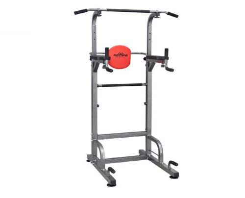 3.RELIFE REBUILD YOUR LIFE Power Tower Workout Dip Station for Home Gym Strength Training Fitness Equipment Newer Version