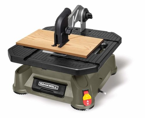 3.Rockwell BladeRunner X2 Portable Tabletop Saw with Steel Rip Fence, Miter Gauge, and 7 Accessories - RK7323