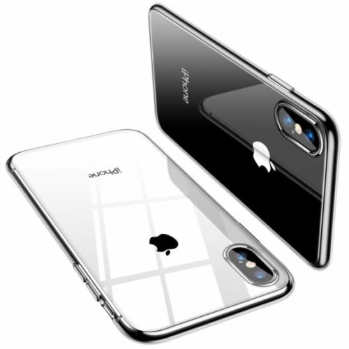 5. TORRAS Crystal Clear iPhone Xs Max Case, Soft TPU Thin Cover Slim Gel Phone Case for iPhone Xs Max