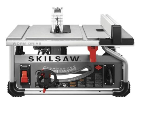 5.SKILSAW SPT70WT-01 10 In. Portable Worm Drive Table Saw