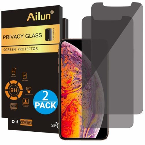 6. Ailun Privacy Screen Protector Compatible with iPhone Xs Max(6.5inch 2018 Release