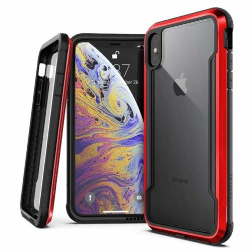 7. X-Doria Defense Shield Series, iPhone Xs Max - Military Grade Drop Tested, Anodized Aluminum, TPU, and Polycarbonate Protective Case for Apple iPhone Xs Ma