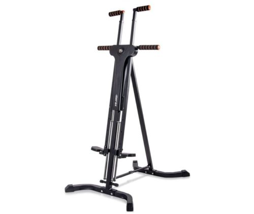7.Merax Vertical Climber Fitness Climbing Cardio Machine Full Total Body Workout Fitness Folding Climber 2.0 (Black)