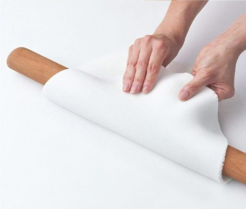 7.VANZAVANZU Rolling Pin 15-3 4 Inch Eco-friendly Beech Wood Professional Dough Roller Classic Wooden Rolling Pins for Baking Pasta Fondant Cookies Pizza.