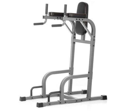 9.XMark Fitness Commercial Vertical Knee Raise with Dip Station and Push Up Station, Multi Functional VKR, Core Workout XM-4437.2