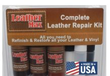 1. Leather Max Complete Leather Refinish, Restore, Recolor & Repair Kit,Now with 3 Color Shades to Blend