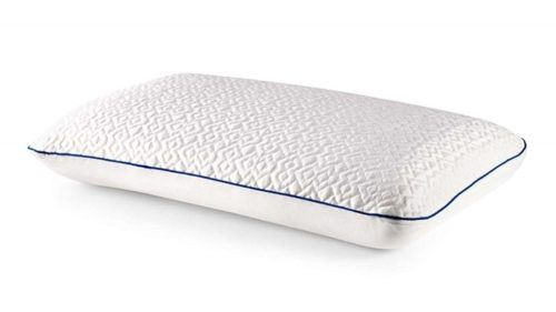 10. Revel CustomFeel Reversible Memory Foam Pillow with Dual Cooling Action (King), Made in the USA with a 5-Year Warranty