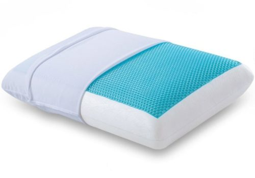 13. Comfort & Relax Reversible Memory Foam Gel Pillow for Sleeping Cool, Standard Size