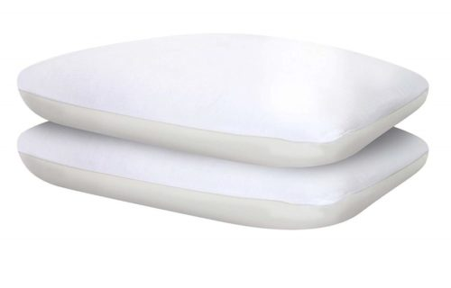 15. Sealy Comfort Plus Cooling Pillow Two Pack, Standard, White