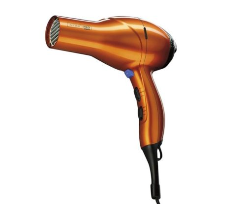4.INFINITIPRO BY CONAIR 1875 Watt Salon Performance AC Motor Styling Tool Hair Dryer; Orange