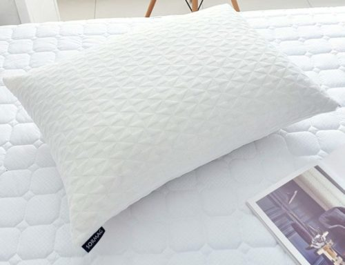 7. SORMAG Bed Pillows for Sleeping (Queen Size) Adjustable Loft Bed Pillows,Memory Foam Pillow for Washable Removable Cooling Bamboo Pillow